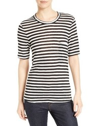 Joels stripe linen tee medium 3650149