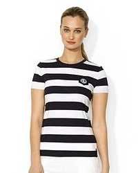 Lauren Ralph Lauren Short Sleeve Striped Tee