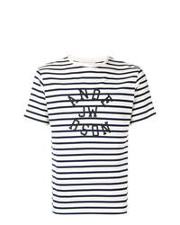 JW Anderson Logo Striped T Shirt