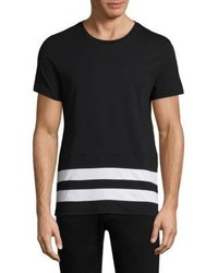 Burberry Radley Striped Cotton Tee