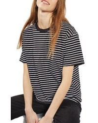 Stripe boxy tee medium 3650135