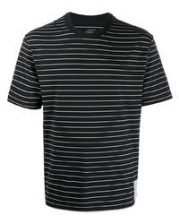 Satisfy Striped Print T Shirt