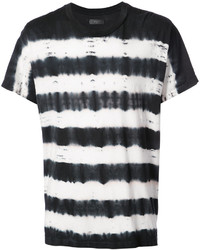 Tie dye striped t shirt medium 6739307