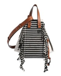 10adb5e29 Black and White Horizontal Striped Crossbody Bags for Women ...