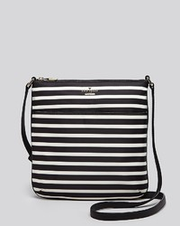 New york crossbody classic nylon striped joni medium 125325
