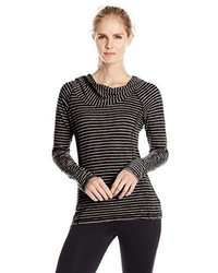 Andrew Marc Marc New York Performance Performance Long Sleeve Cowl Neck Top