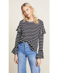 Double ruffle tee medium 6989797