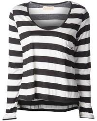 Maclain kate striped t shirt medium 1356815