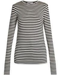 Raey Ry Long Sleeved Striped T Shirt