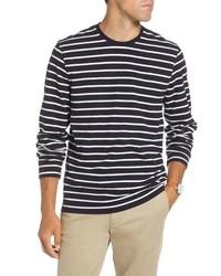 1901 Stripe Long Sleeve T Shirt