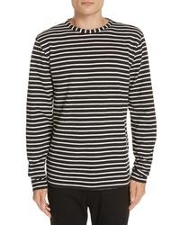 PS Paul Smith Stripe Long Sleeve T Shirt