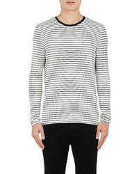 ATM Anthony Thomas Melillo Striped Long Sleeve T Shirt