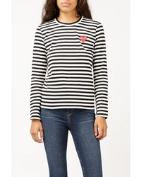 Striped ls tee medium 886812