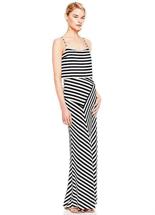 Vince Camuto Popover Striped Tank Maxi Dress | Where to buy & how to ...