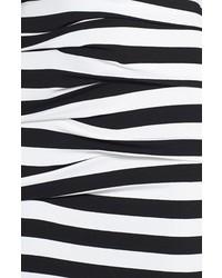 f99508ef70 ... Nicole Miller Vanessa Stripe Tidal Pleat Jersey Maxi Dress ...