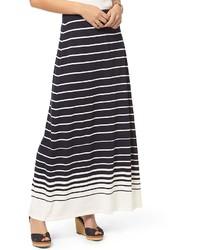Final sale ombre stripe maxi skirt medium 1250998
