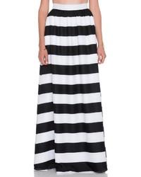 Striped maxi skirt medium 1250997