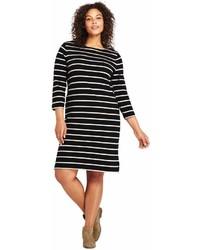 Landsend plus size 34 sleeve sailor t shirt dress medium 6988046