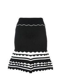 Yigal Azrouel Knitted Striped Dress