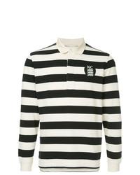 Kent & Curwen Long Sleeved Logo Polo Shirt