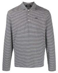 DSQUARED2 Striped Logo Polo Shirt