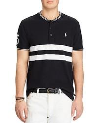Polo Ralph Lauren Featherweight Custom Slim Fit Henley Polo Shirt