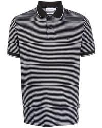 Calvin Klein Logo Striped Polo Shirt