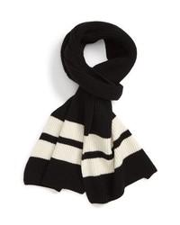 Club Monaco Sport Stripe Wool Scarf