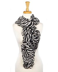 Zebra boa scarf medium 182551
