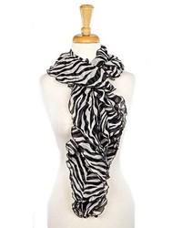 Zebra boa scarf medium 182551