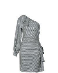 Zimmermann Striped One Sleeve Dress