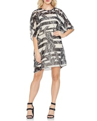 Vince Camuto Tropical Shadow Shift Dress