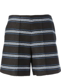 Chloé Striped Woven Shorts