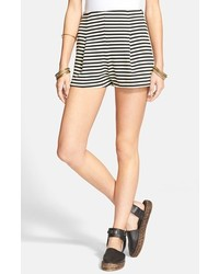 Stripe ponte shorts medium 184911