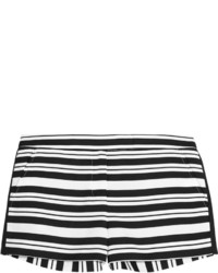Tibi Striped Woven Shorts
