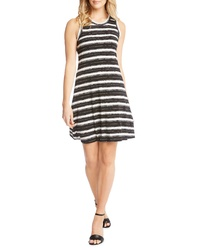 07fe8d17335a Black and White Horizontal Striped Skater Dresses for Women ...