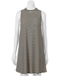 Juniors fire la mockneck swing dress medium 543580