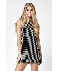 Stripe knit swing dress medium 543582