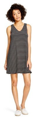 97de0c7e8a4b Merona Stripe Swing Dress, $22 | Target | Lookastic.com