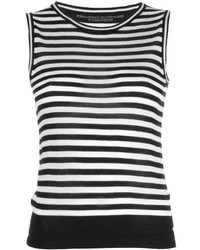 Ermanno Scervino Striped Tank Top