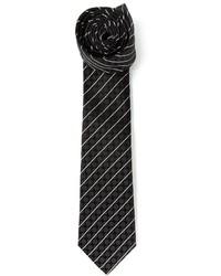 Dolce gabbana striped and polka dot tie medium 136062