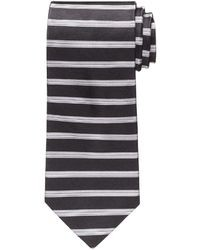 Jos a bank horizontal stripe tie medium 27660