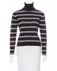 Burberry Striped Cashmere Sweater