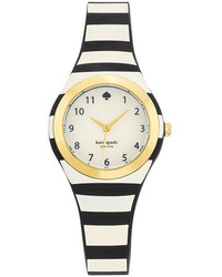 Kate Spade New York Black Stripe Rumsey Watch