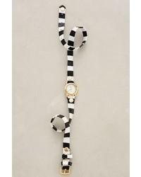 La Mer Striped Wrap Watch