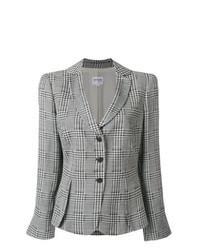 Giorgio Armani Vintage Houndstooth Pattern Blazer