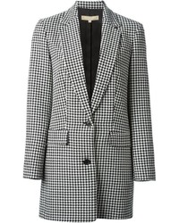 Michl kors houndstooth pattern jacket medium 132653