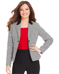 Kasper Two Button Houndstooth Jacket