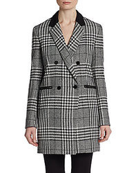 Mcginn Carrie Houndstooth Check Coat