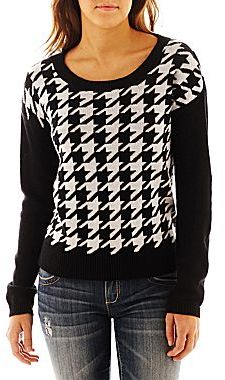 jcpenney Decree Houndstooth Sweater